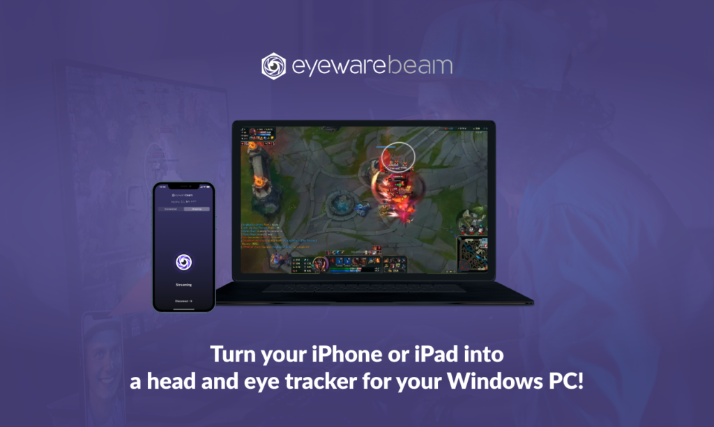 head tracking & eye tracking for your iPhones & iPads