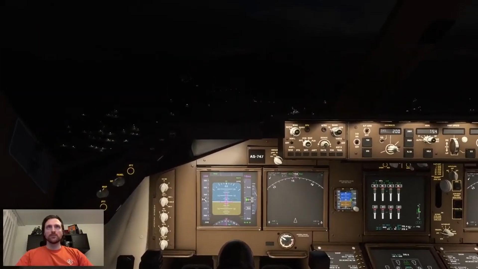 microsoft flight simulator with head tracking eyeware beam